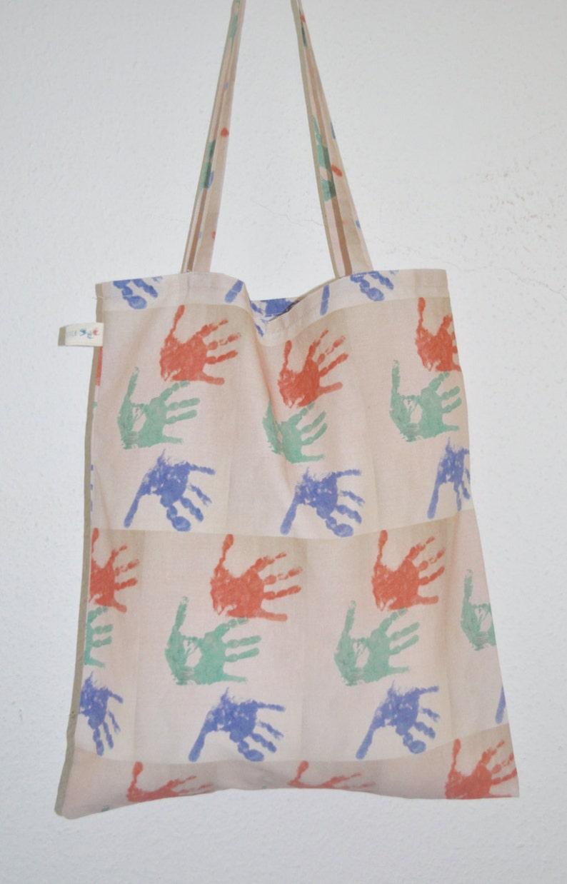 4504e9890d6 Bolso de mano personalizado bolso de recuerdo bolsa de arte