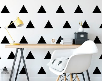 Triangle Wall Decal, Triangle Wall Decor, Triangle Wall Stickers, Triangle Wall Art, Triangle Design, Triangle Decals, Triangle Decor, Shape