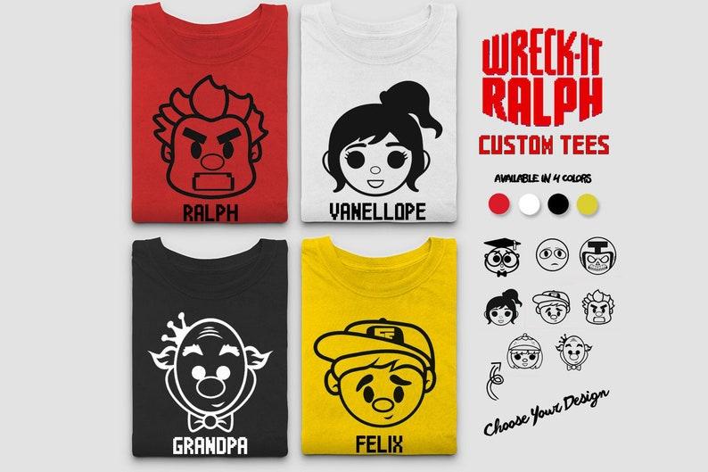 Wreck It Ralph Shirt  Disney Wreck It Ralph Shirts Vanellope image 0