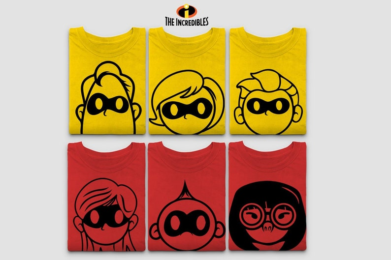 The Incredibles T Shirt  Disney Family Matching Shirts  Jack image 0