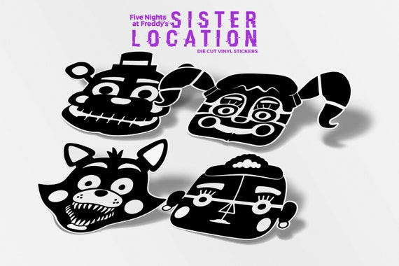 Five Nights At Freddys Sister Location Decal FREE