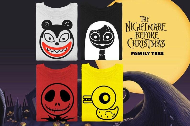 Nightmare Before Christmas Shirt  Halloween Shirt  Jack image 0