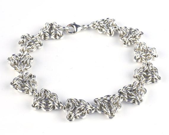 Triquetra Bracelet - Sterling Clearance