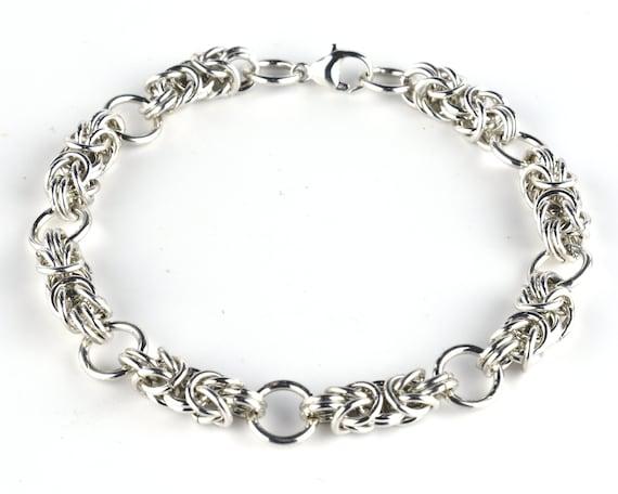 Segmented Byzantine Bracelet