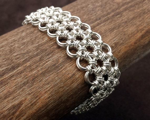 Hana Gusari Japanese Chainmail Bracelet