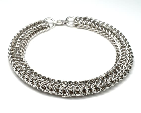 Chainmail Dragonspine Bracelet