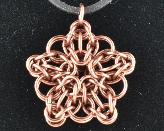 CLOSEOUT Celtic Star Pendant - Antique Copper