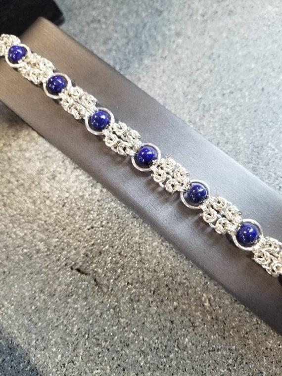 Maighin Digona Bracelet - Sterling Silver & Peridot