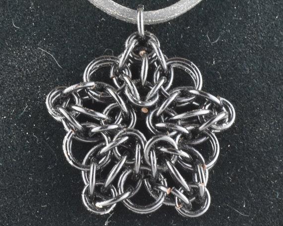 CLOSEOUT Celtic Star Pendant - Black