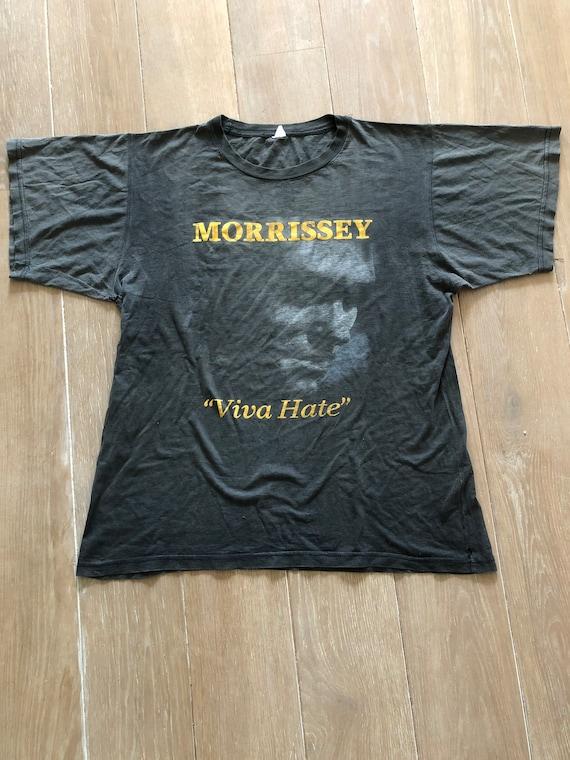 Morrissey Viva Hate 1988 shirt The Smiths hardcore