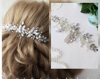 Swarovski hair comb Bridal crown Bridal hair vine Crystals hair comb Bridal Hair piece Wedding hair accessories Rhinestones hair comb Tiara