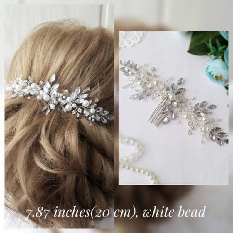 Wedding hair comb Bridal headpiece Bridal hair accessories image 0