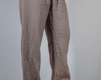 Loose Summer Linen Pants