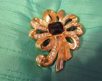 Gorgeous Large Bow Brooch/Pin