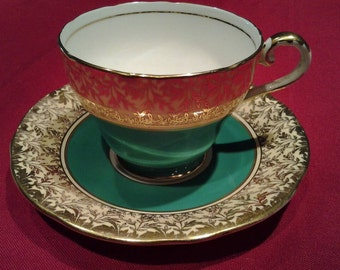 Aynsley Cup and Saucer from England