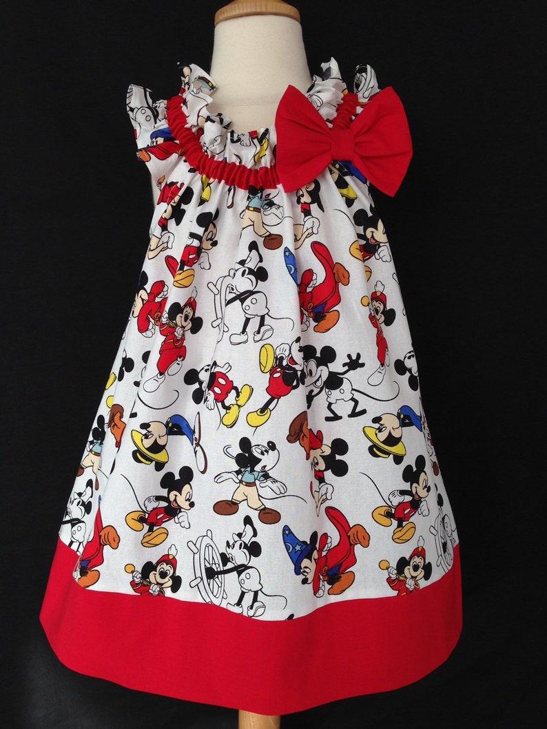 a181003ddac7a8 Mickey Through the Years Dress  Mickey 90th Birthday Dress