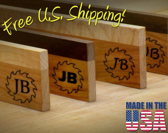"""Branding Iron - 1.5"""" Round Custom Initials with Saw for Wood"""