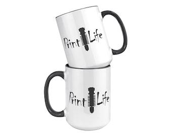 15oz Mug - Print Life, 3D Printing