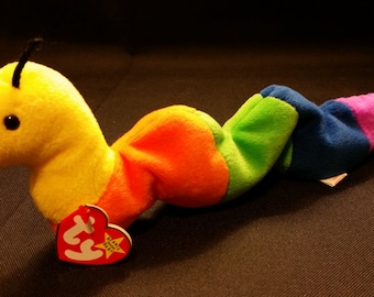 f58e6cf6a59 Ty beanie babies INCH the worm