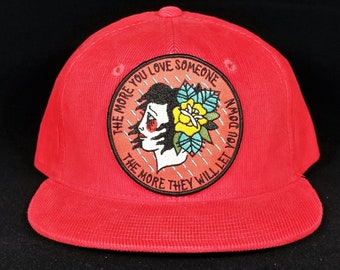 24b813ba7aced Custom corduroy hat