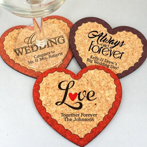 Hochzeitsgeschenke Herz Hochzeit Untersetzer Personalisierte Etsy