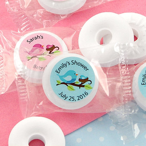 Baby Shower Favor Mints Personalized Baby Life Savers Mint