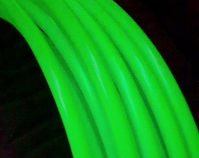 Glow in the Dark Hula Hoop - Collapsible Untaped Polypro