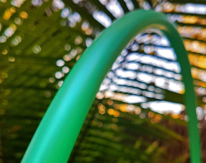"""3/4"""" 30"""" READY TO SHIP Hula Hoop """"Caribbean Breeze"""" - Collapsible Untaped Polypro"""