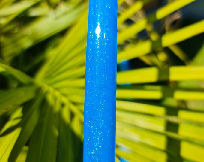 """Hula Hoop """"Stardust Blue"""" - Collapsible Glossy Polypro"""