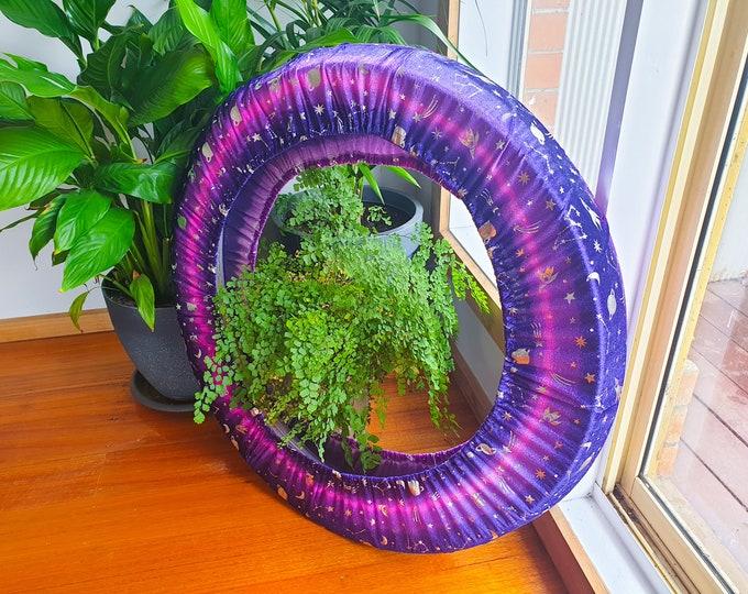 Hoop Huggie - Crushed Velvet Hula Hoop Travel Bag - Celestial
