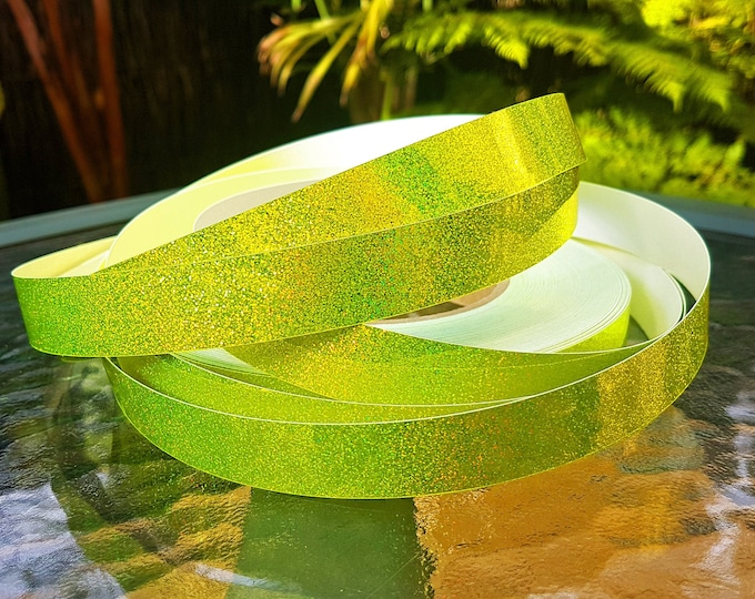 "Hula Hoop Tape - ""Yellow HoloGlitter"""