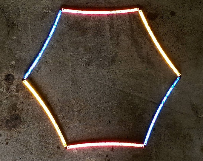 Hex-Hoop - Reflective Collapsible Polypro