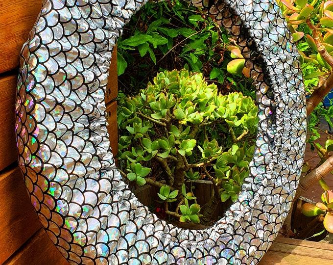 Hoop Huggie - Holographic Mermaid Hula Hoop Travel Bag for Mini/Collapsible Hoops