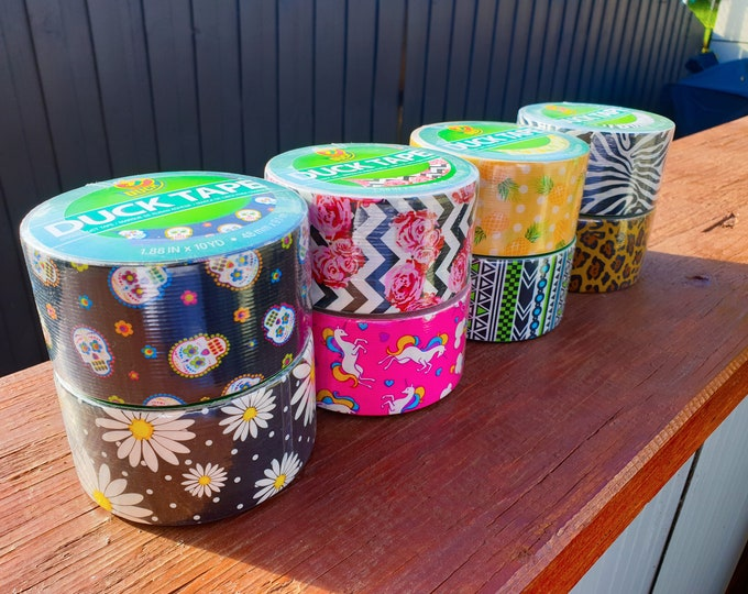 Patterned Hula Hoop Tape - Duck Brand Printed Duct Tape