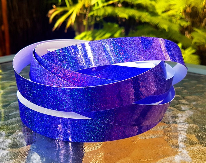 "Hula Hoop Tape - ""Purple HoloGlitter"""