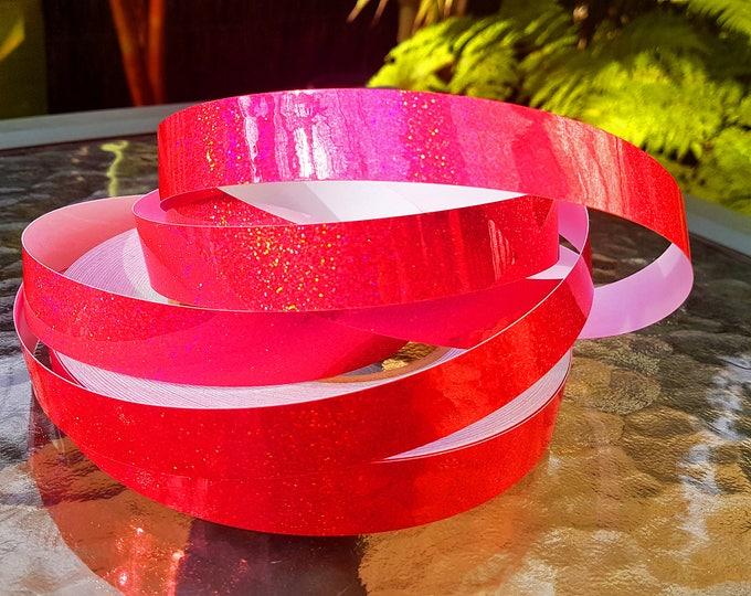 "Hula Hoop Tape - ""Pink HoloGlitter"""