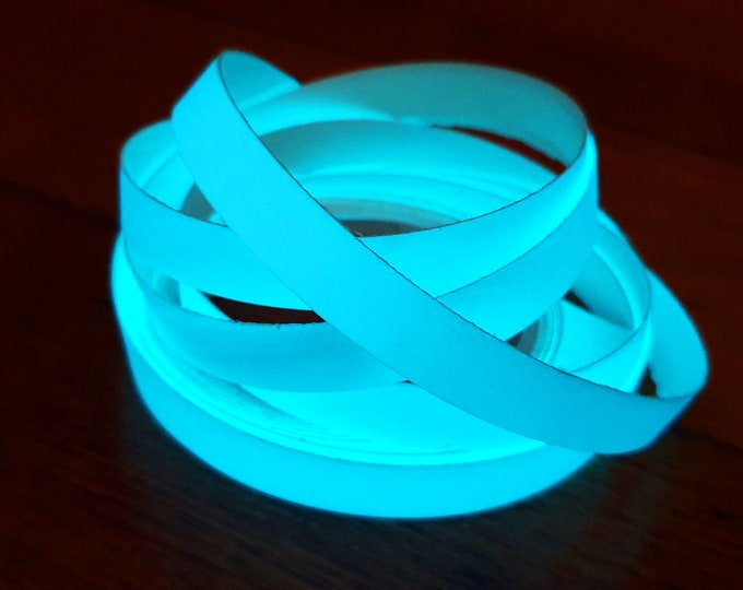 Glow in the Dark Tape - Blue Moonglow