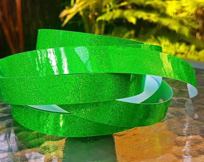 "Hula Hoop Tape - ""Green HoloGlitter"""