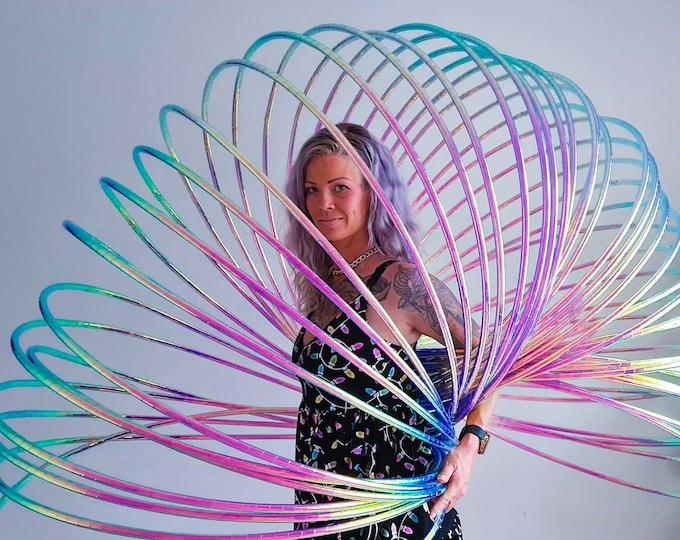 Slinky Hoops - 20/30/40 hula hoops - Taped or Untaped Polypro