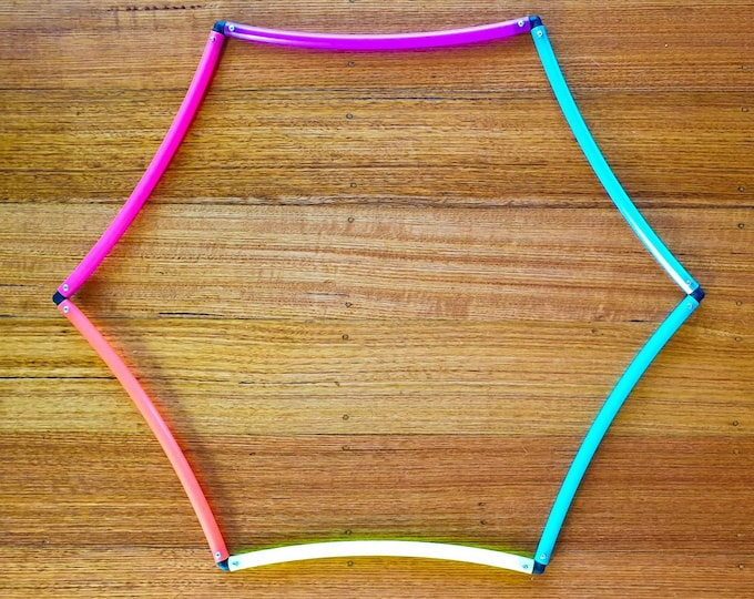 Hex-Hoop - Collapsible Coloured Polypro