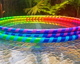 Rainbow Hula Hoop - Collapsible Polypro or HDPE