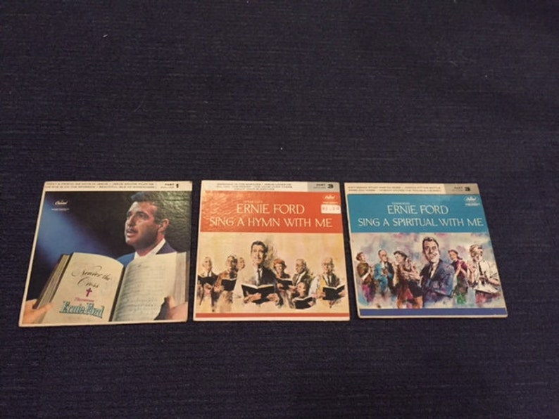 3 Tennessee Ernie Ford Gospel Records image 0
