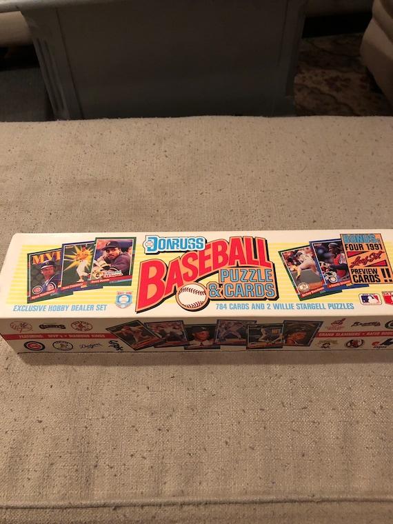 Vintage 1991 Donruss Baseball Card Set