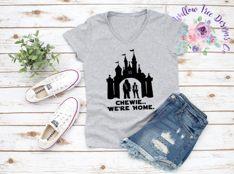 224f288e Chewie We're Home Galaxy's Edge Star Wars   Etsy