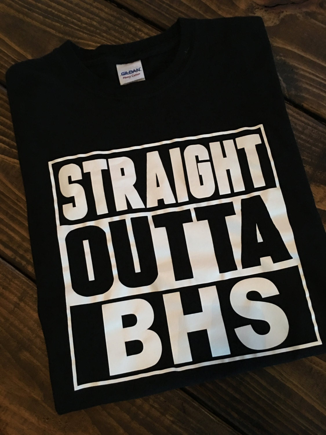 Free Shipping Straight Outta Bhs T Shirts Personalized Etsy