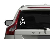 Star Trek Decal - Vinyl Sticker, Vinyl Decal - Car Decal, Laptop Sticker, Window or Bumper Sticker