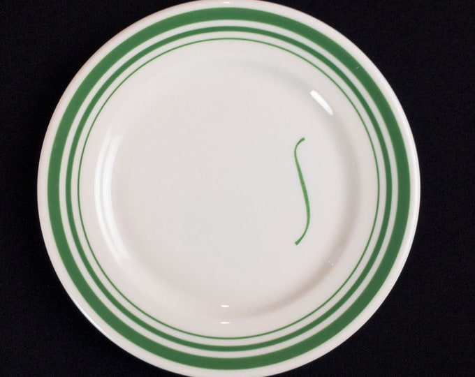 Bread Plate from Shamrock Hotel Houston Texas Pine Grill Room Restaurant Ware by Syracuse China Circa 1955