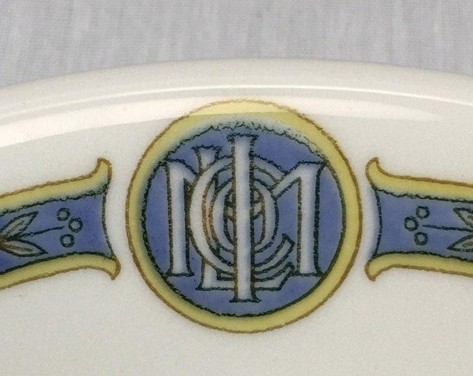 Vintage 1957 Metropolitan Life Insurance Company Restaurant Ware Berry Bowl Mayer China