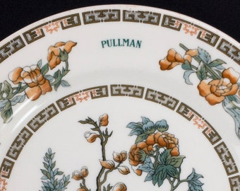 Pullman Railroad Dining Car Service Plate Indian Tree Pattern by Syracuse China