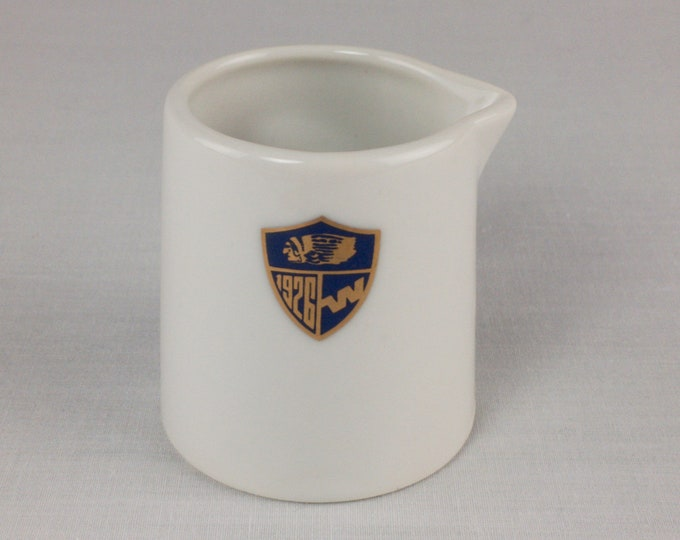 Western Airlines 2 oz Small Individual Creamer Abco Tableware Restaurant Ware